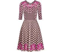 Carissa Jacquard-knit Dress Mehrfarbig