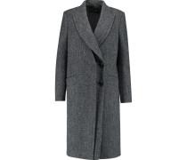 Tweed Coat Türkis