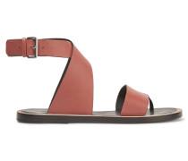 Mailin Leather Sandals Schokoladenbraun