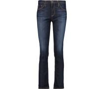 Emery Mid-rise Skinny Jeans Dunkler Denim