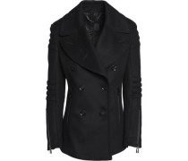 Croft wool and cashmere-blend felt coat