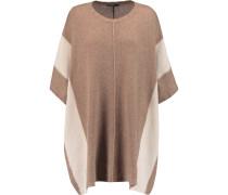 Blanket Cashmere Poncho Hellbraun