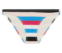 Chloe Striped Bikini Briefs Mehrfarbig
