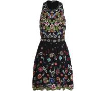 Talulah embellished corded lace mini dress