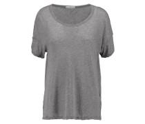 Cotton T-shirt Grau