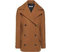 Virto wool-felt coat
