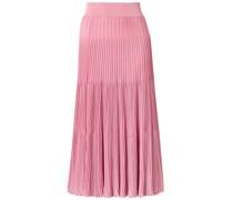 Ribbed-knit Midi Skirt