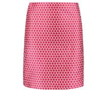 Jade Cotton-jacquard Mini Skirt Bonbonrosa