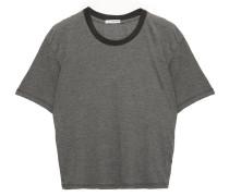 Mélange Cotton-blend Jersey T-shirt
