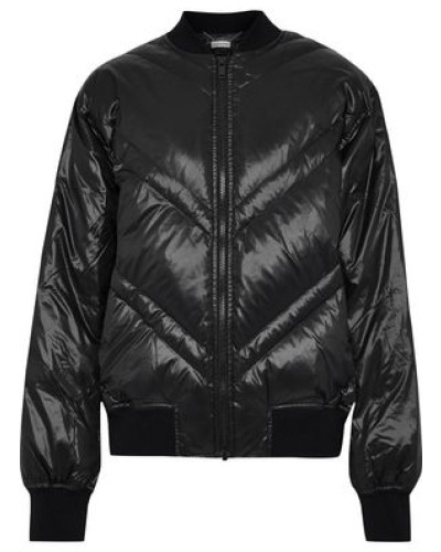 Vindas Quilted Shell Down Bomber Jacket Black