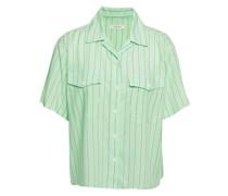 Joon Gestreiftes Hemd aus Musselin