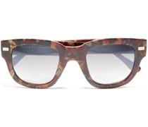 D-frame Printed Acetate Sunglasses