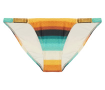 Low-rise Embellished Dégradé Bikini Briefs Mehrfarbig