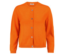 Cashmere And Silk-blend Cardigan Orange