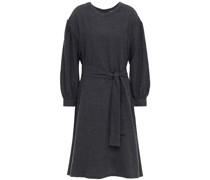 Kleid aus Flanell aus Einer Baumwollmischung mit Gürtel