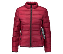 Quilted Shell Jacket Bordeaux