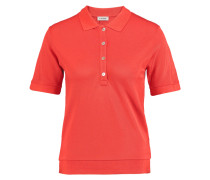 Kensington Stretch-piqué Polo Shirt Tomatenrot