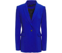 Woman Hazel Wool-blend Blazer Cobalt Blue