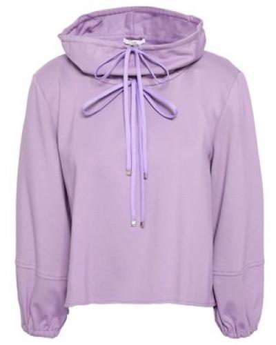 Stretch-jersey Sweatshirt Lavender