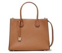 Mercer Pebbled-leather Shoulder Bag Light Brown Size --