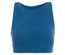 Cutout Technical-knit Sports Bra