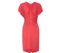 Simone ruched stretch-jersey dress