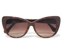 Cat-eye Tortoiseshell Acetate Sunglasses Horn
