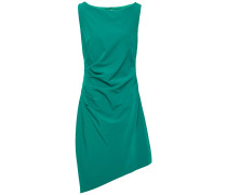Asymmetric Ruched Cady Dress