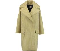 Bouclé Coat Pistazie