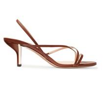 Leeloo Slingback-sandalen aus Leder