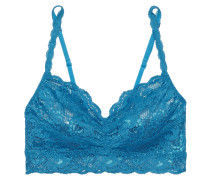 Never Say Never Sweetie Scalloped Stretch-lace Bralette