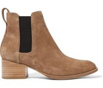 Walker Chelsea Boots aus Veloursleder
