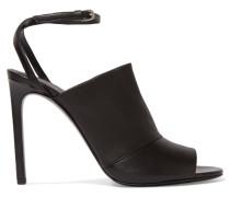 Grace Leather Sandals Schwarz