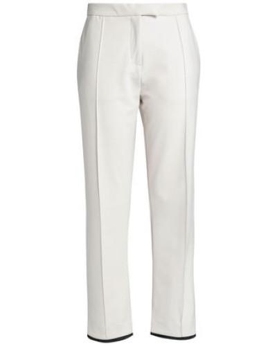 Stretch-jersey Straight-leg Pants Ivory