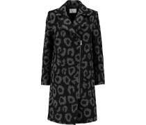 Miline Felted-bouclé Coat Grau