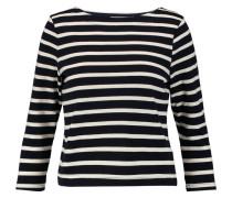Marina Striped Jersey Top Mitternachtsblau