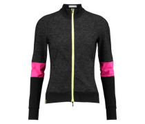 Neon-paneled stretch jacket
