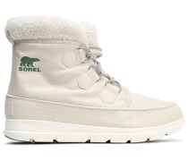 Carinival Fleece-trimmed Waterproof Shell Snow Boots