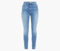Le High Skinny Faded High-rise Skinny Jeans