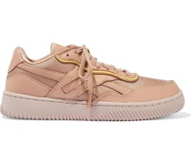 Dual Court Ii Sneakers aus Webstoff und Leder