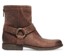 Phillip Leather Boots Braun