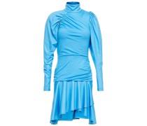 Asta Gerafftes Minikleid aus Stretch-jersey