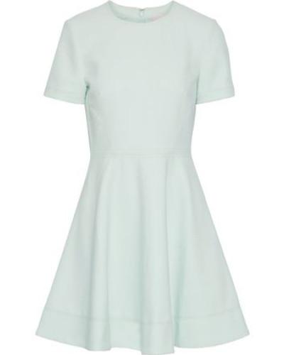 Woman Bryce Flared Cady Mini Dress Mint