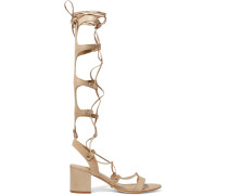 Hope Lace-up Leather Sandals