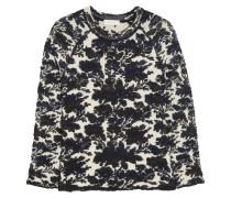 Devon Jacquard-knit Sweater Schwarz