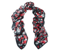 Printed Silk Scarf Rot