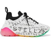 Eclypse Monogram Bedruckte Sneakers aus Kunstleder mit Neopren-besatz