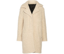 Denise Wool And Mohair-blend Coat Beige