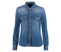 Western Denim Shirt Mittelblauer Denim