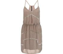 Destiny bead-embellished chiffon mini dress
